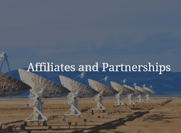 Affiliates and Partnerships