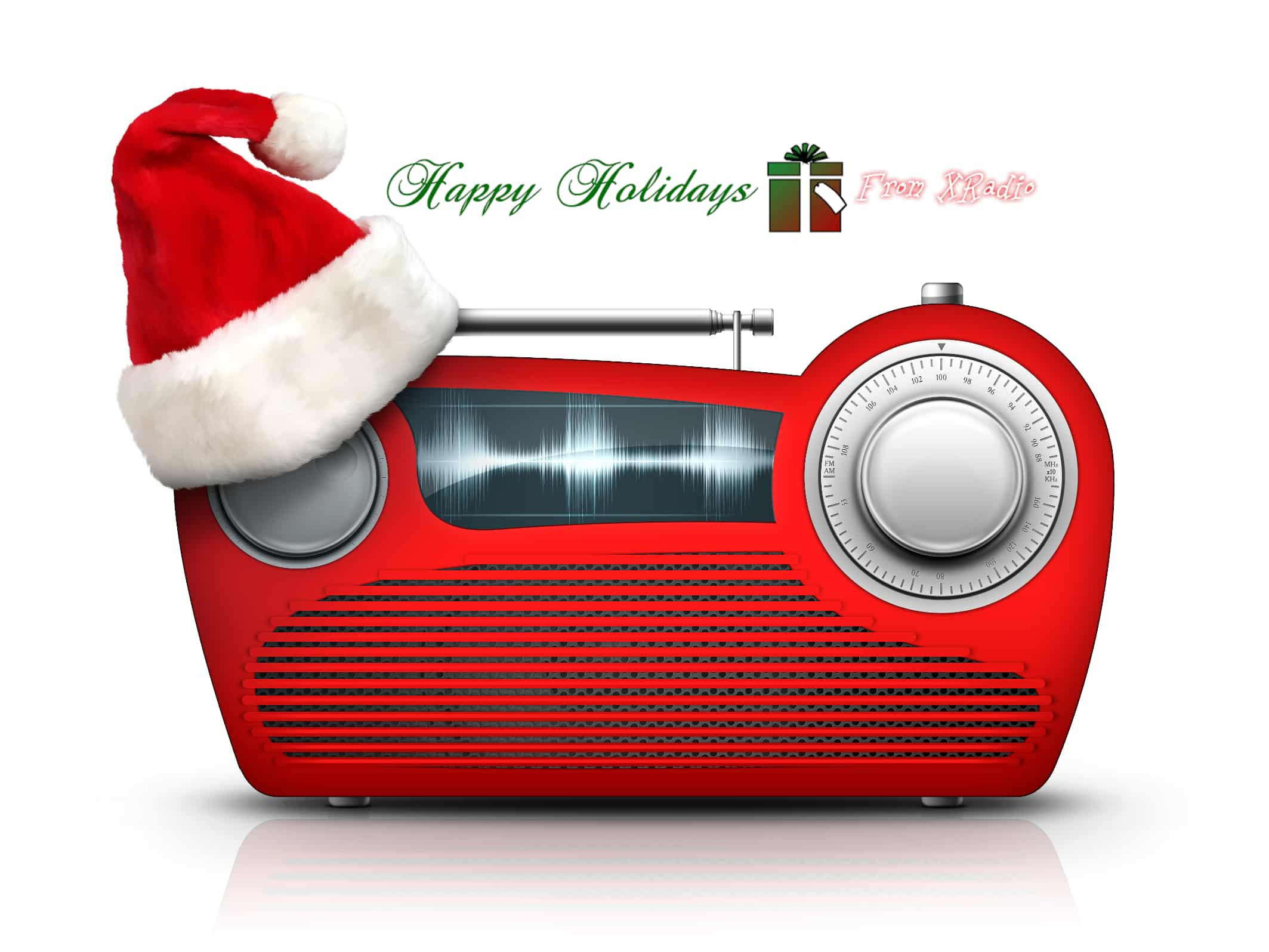 Happy Holidays from XRadio